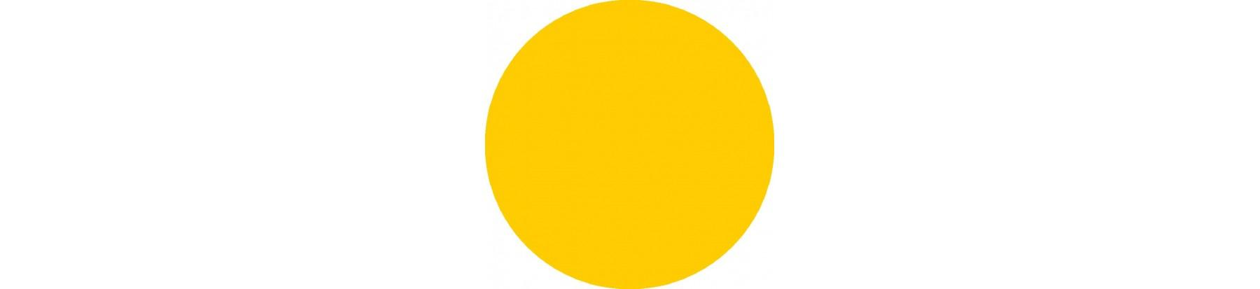 Желтые золотые тени